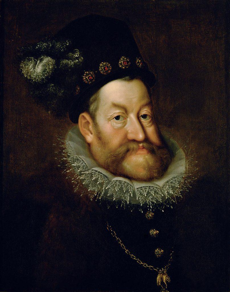 portrait emperor Rufolf II