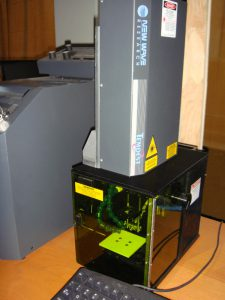 LIBS test machine