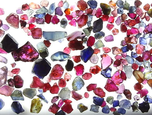 cambodia ruby sapphire rough
