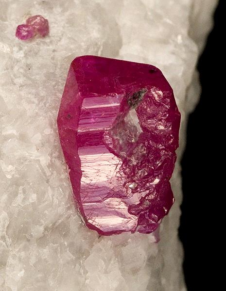 crystal ruby natural
