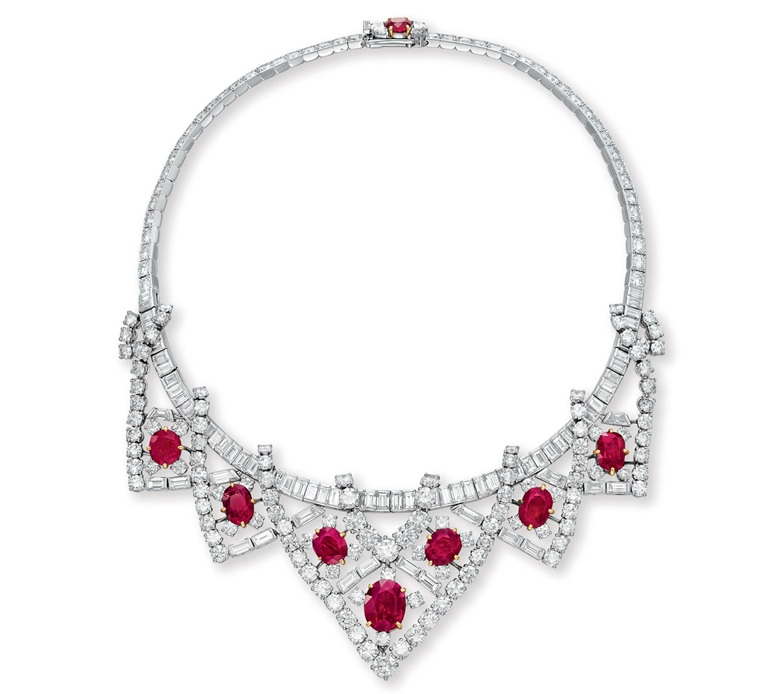 elizabeth taylor ruby necklace