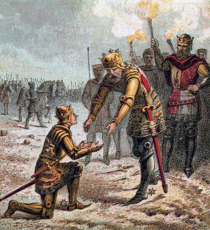 prince edward black prince battle