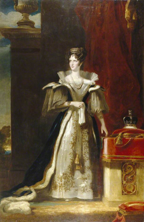 queen adelaide royal portrait