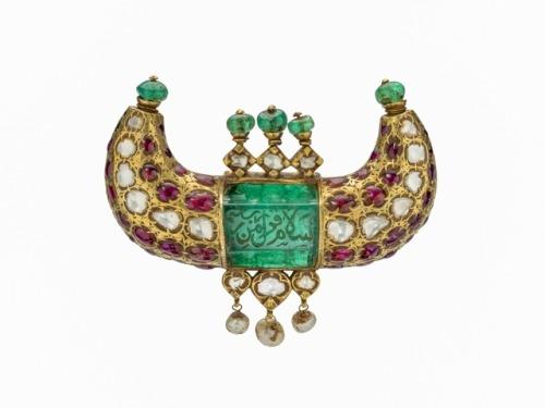 ruby emerald mughal jewelry
