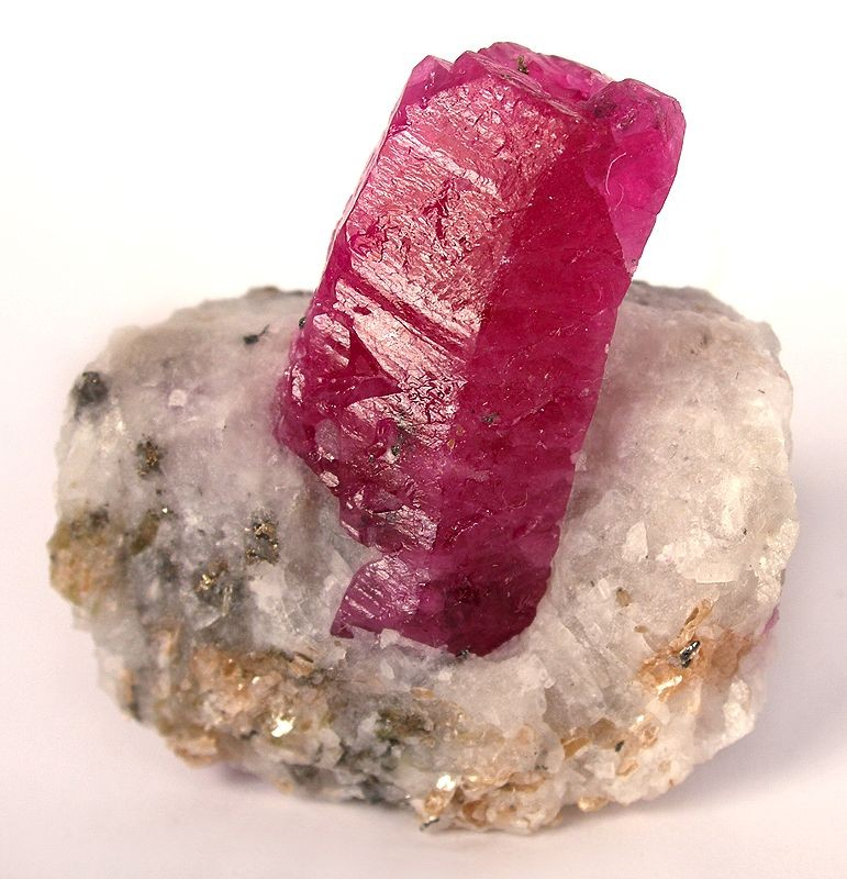 ruby natural crystal rough kenya