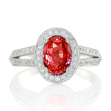 split shank ruby ring