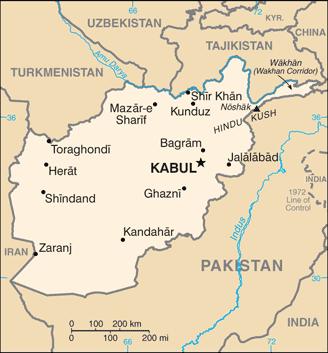 afghanistan map rubies