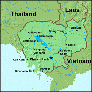 cambodia map rubies