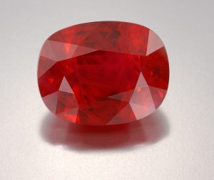 color zoning ruby gemstone