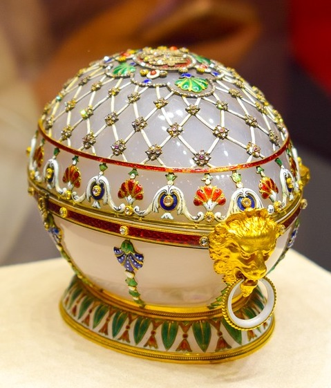 enameled faberge egg