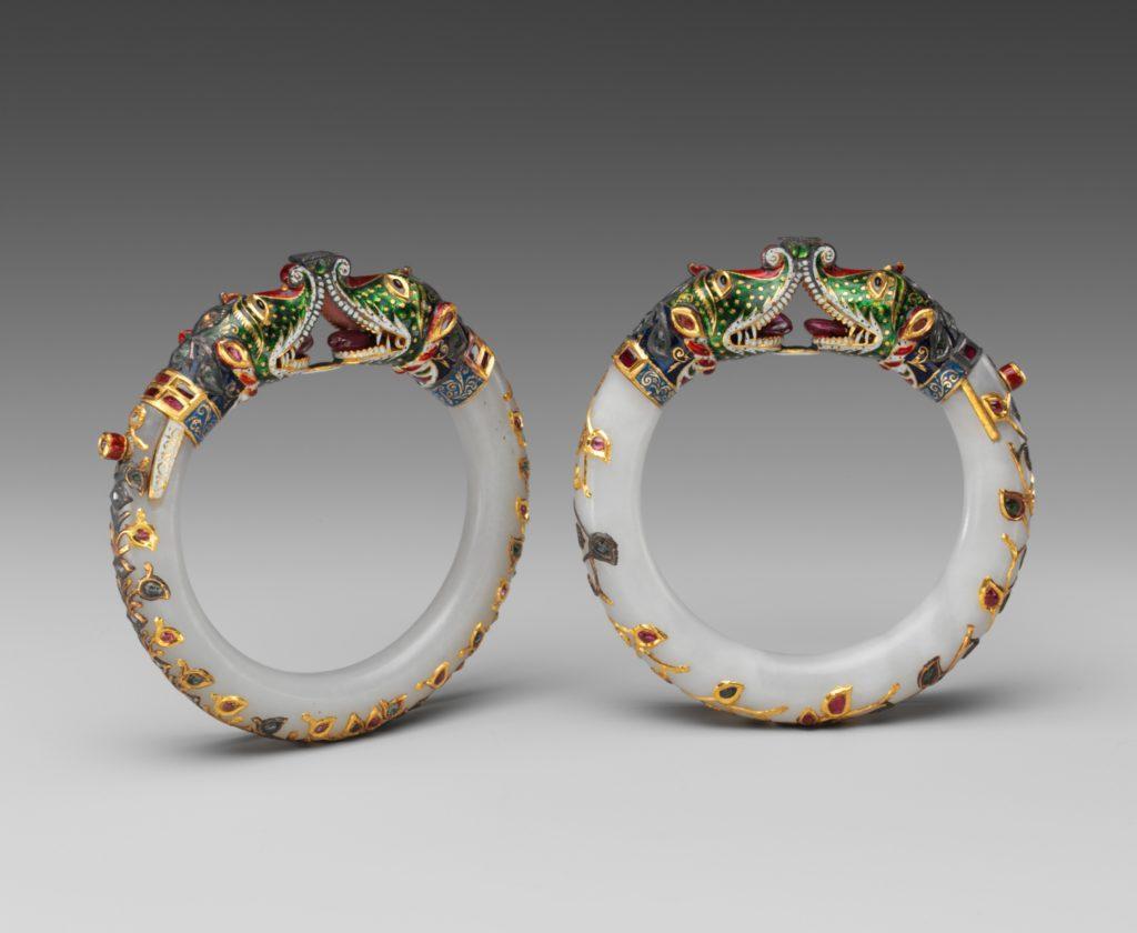 mughal bracelet rubies