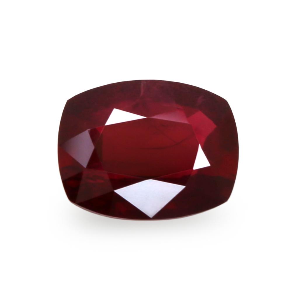 natural untreated ruby gemstone