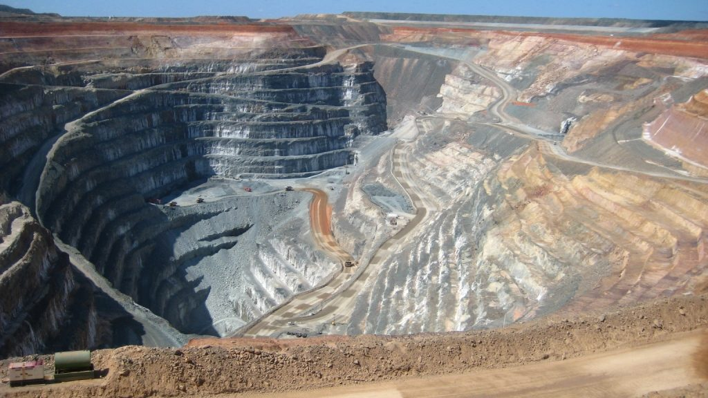 open pit mining example