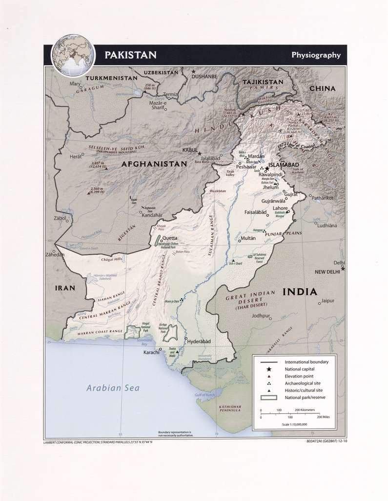pakistan map rubies