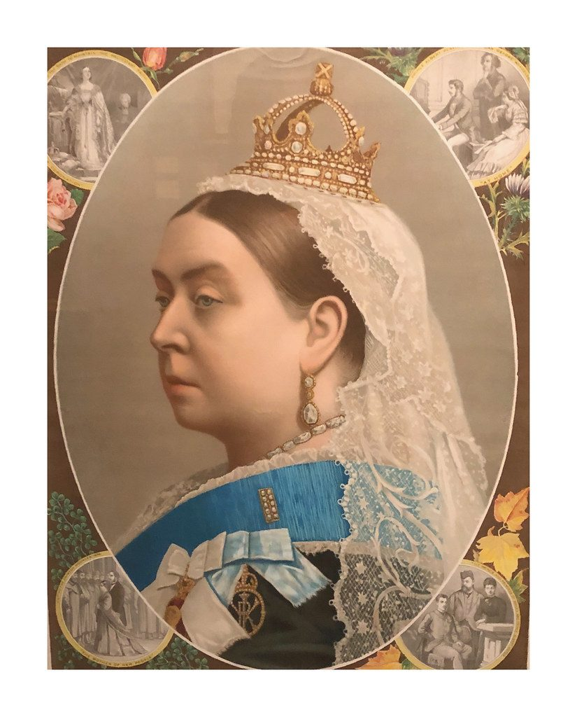 queen victoria portrait 1887