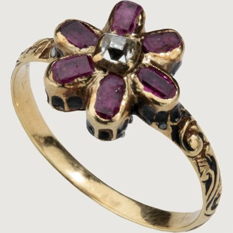 renaissance ruby ring