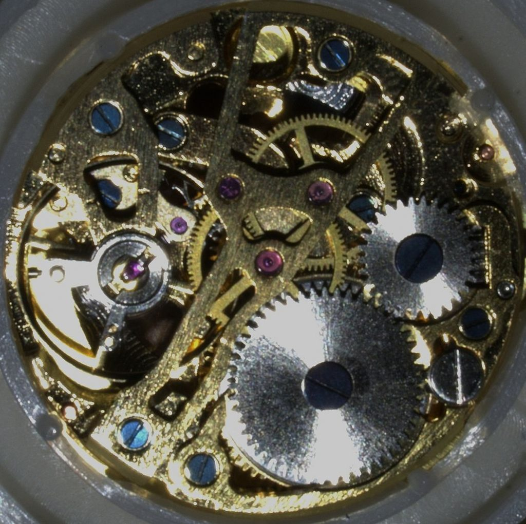 rubies mechanical watch movement