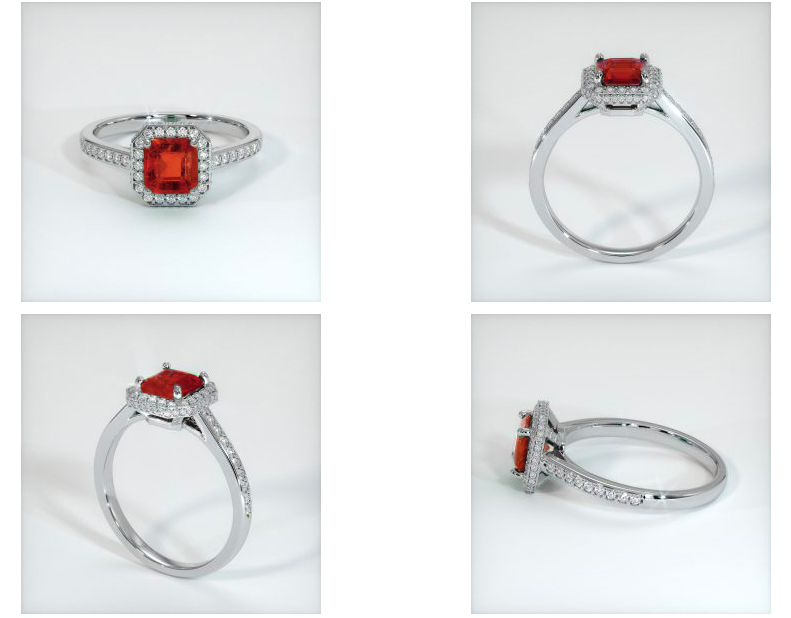 ruby engagement ring rendering