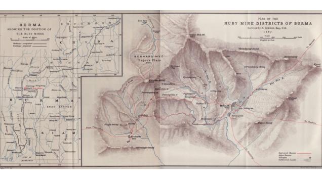 ruby mines burma map