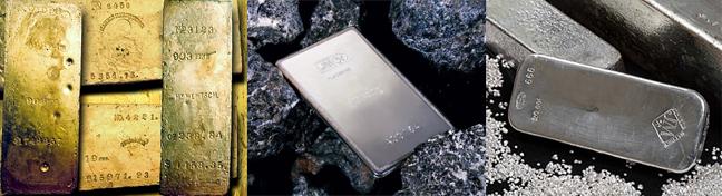 top precious metals