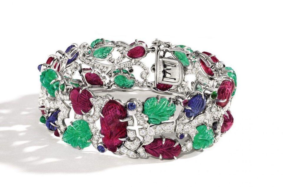 tutti frutti bracelet cartier