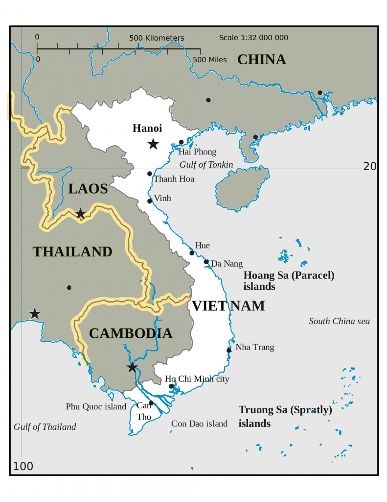 vietnam map rubies